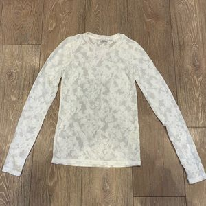 Lace long sleeve Wilfred shirt